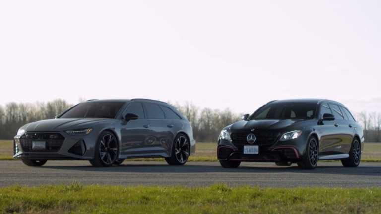 Κόντρα μεταξύ Audi RS6 και Mercedes-AMG E 63 S [video]