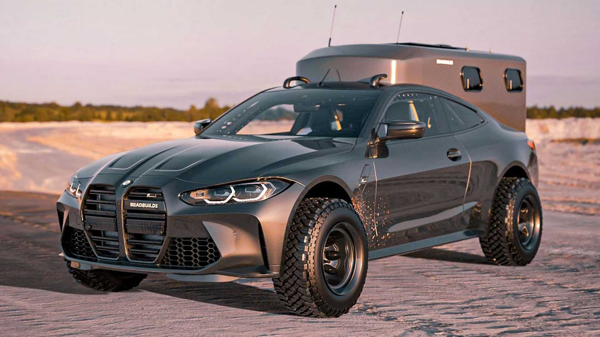 BMW M4 Baja Overlander