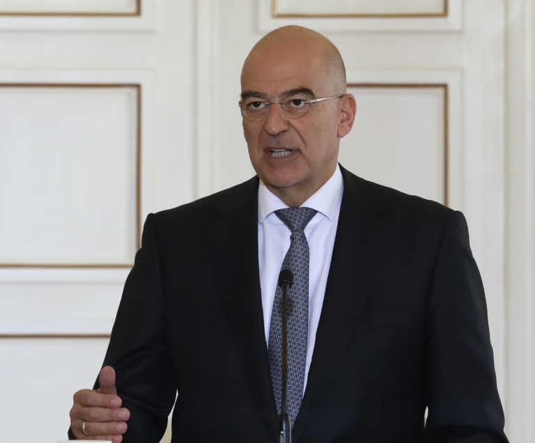 Δένδιας σε Bloomberg: Η Ευρώπη να θέσει όρια στην προκλητική συμπεριφορά της Τουρκίας