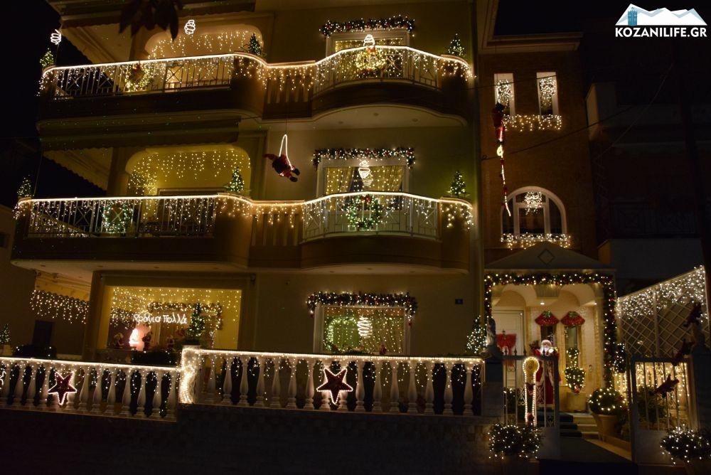 Κοζάνη: Το σπίτι των Χριστουγέννων δεν καταλαβαίνει από κορονοϊό! Εικόνες που μαγεύουν και φέτος (Βίντεο)