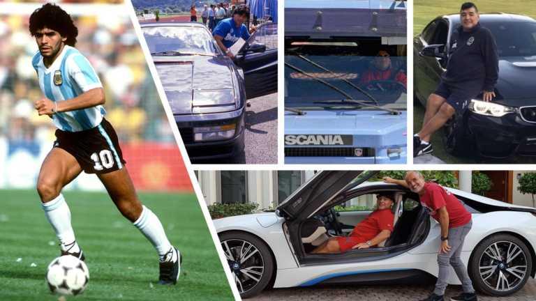 Μαραντόνα: Τα αυτοκίνητα που σημάδεψαν τη ζωή του «Θεού» της μπάλας! [pics]