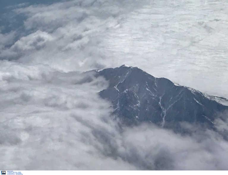 Εύβοια: Χιόνισε στο Βουνό Δίρφυς (pic)