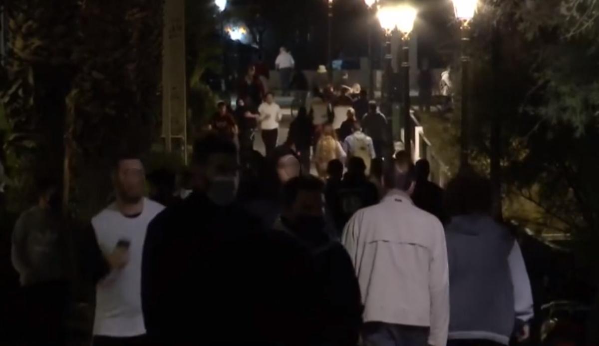 Κορονοϊός: Χαμός στο Φλοίσβο από… περιπατητές (video)