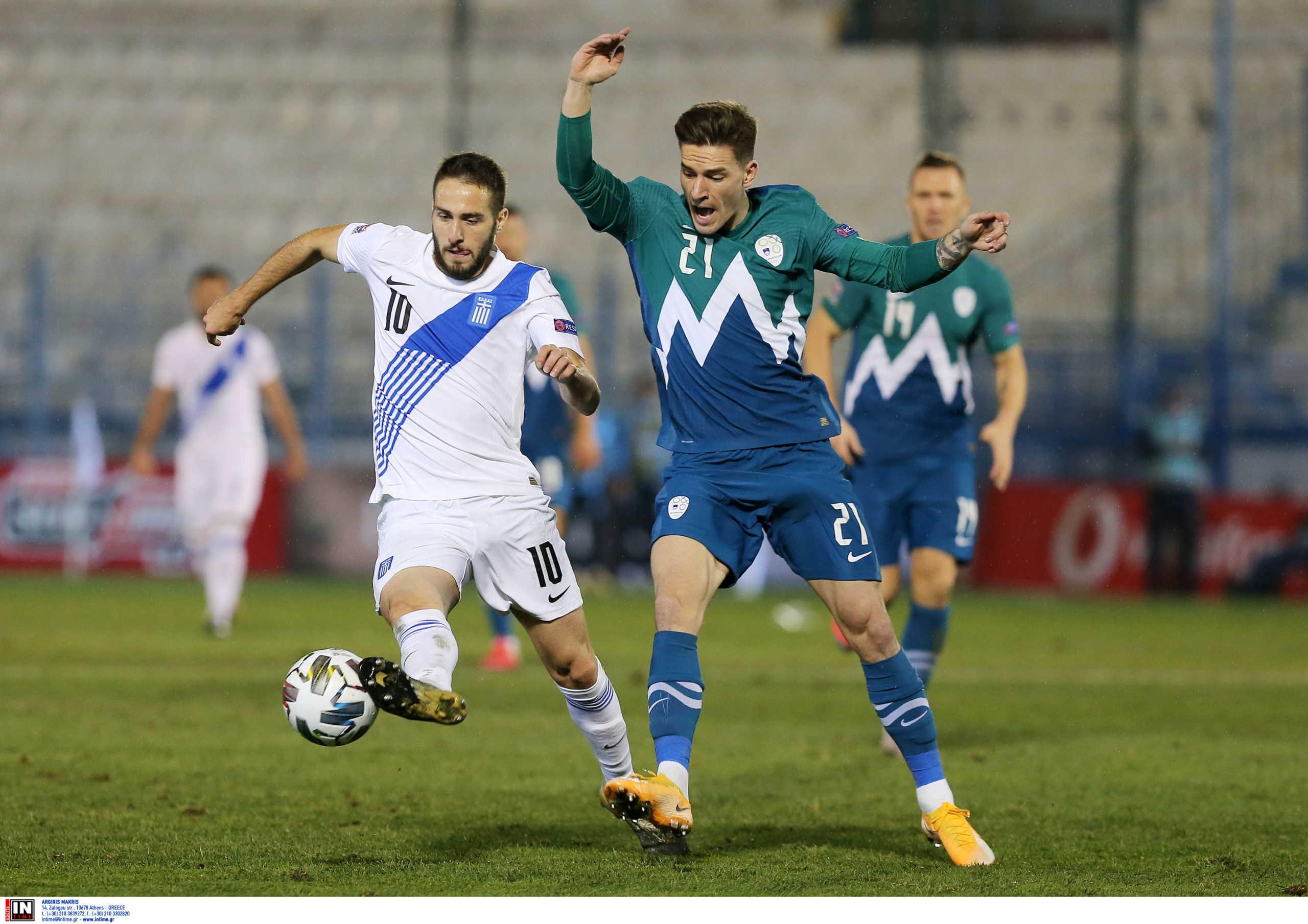 """Ελλάδα – Σλοβενία: Πάλεψε η Εθνική αλλά… """"κόλλησε"""" στο μηδέν και στην League C (video)"""