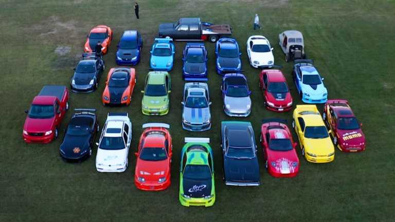 Η μεγαλύτερη συλλογή αυτοκινήτων Fast & Furious [vid]