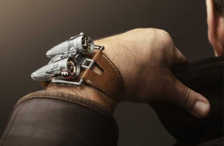 Ένα φουτουριστικό ρολόι με έμπνευση το θρυλικό μαχητικό αεροσκάφος Kittyhawk