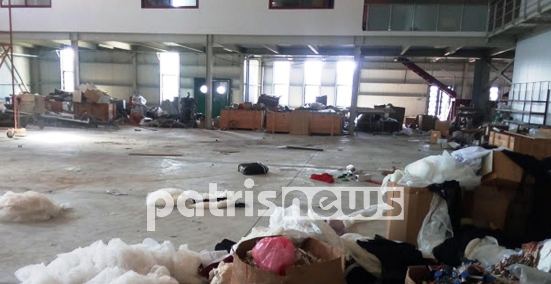 """Ηλεία: Λεηλασία 500.000 ευρώ – Διαρρήκτες """"ξήλωσαν"""" ολόκληρο εργοστάσιο! (pics)"""