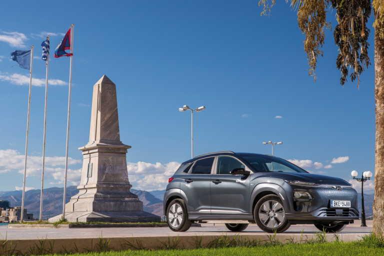 Δοκιμάζουμε το μικρό ηλεκτρικό SUV της Hyundai με την τεράστια αυτονομία [pics]