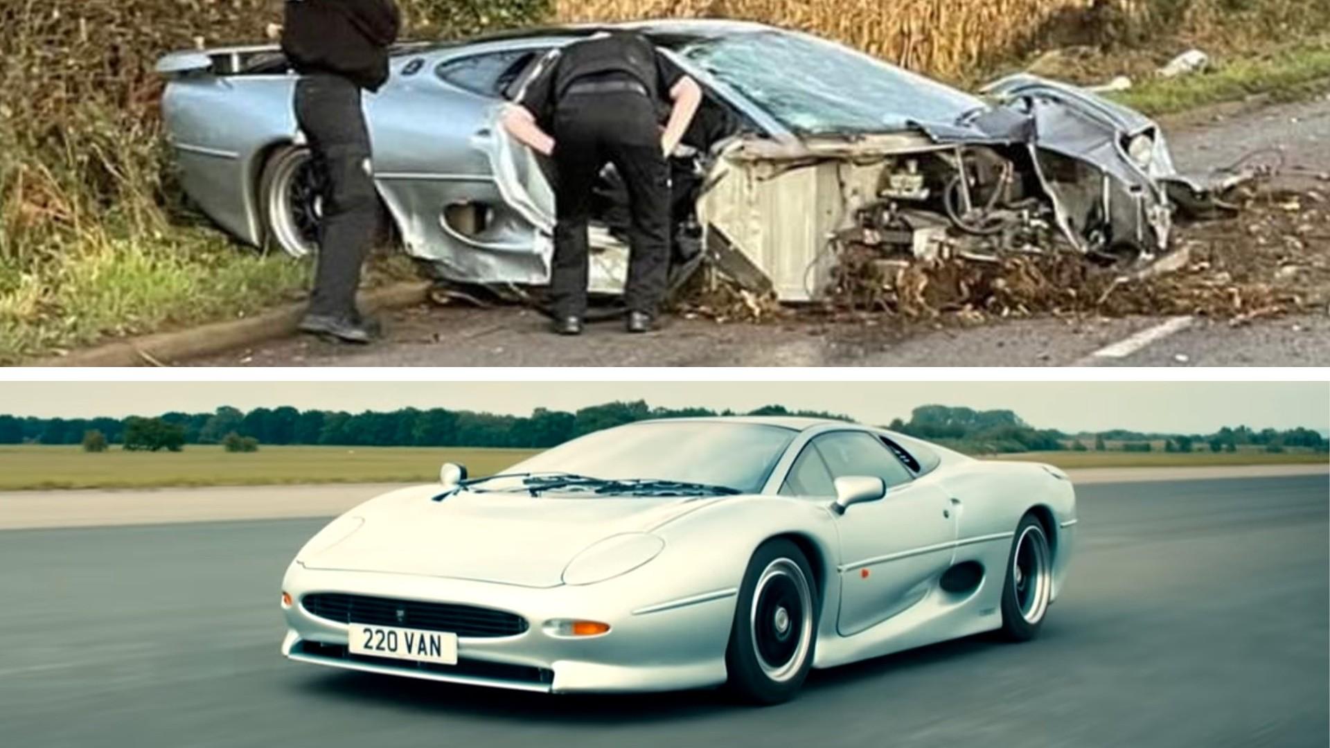 Καταστράφηκε η Jaguar XJ220 που συμμετείχε στο Top Gear