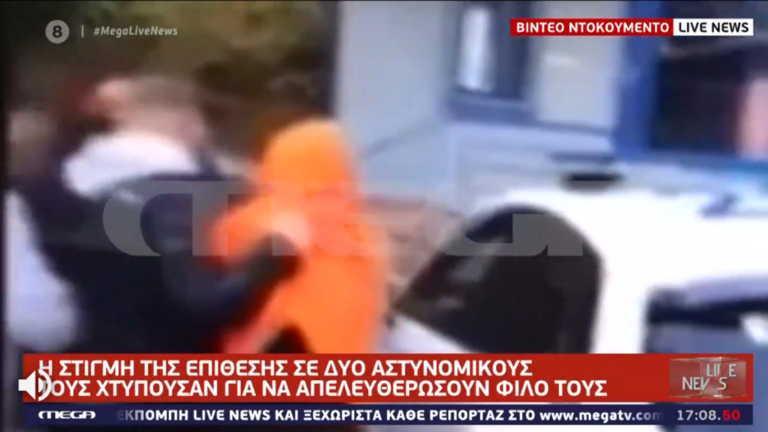 Βίντεο ντοκουμέντο του Live News: Η στιγμή της επίθεσης στους αστυνομικούς στη Θεσσαλονίκη