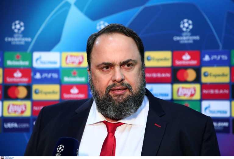 """Ολυμπιακός – Μαρινάκης: """"Αλλοίωση στο αποτέλεσμα, υπήρχε φάουλ στον Ντρέγκερ πριν το γκολ"""""""