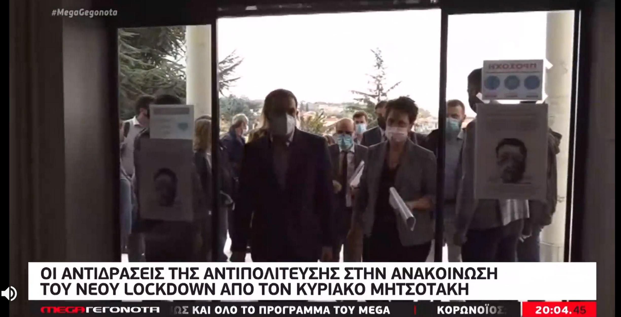 Lockdown: Συντονισμένα πυρά κατά Μητσοτάκη από την αντιπολίτευση – Πως είδαν το διάγγελμα στα καφενεία (video)