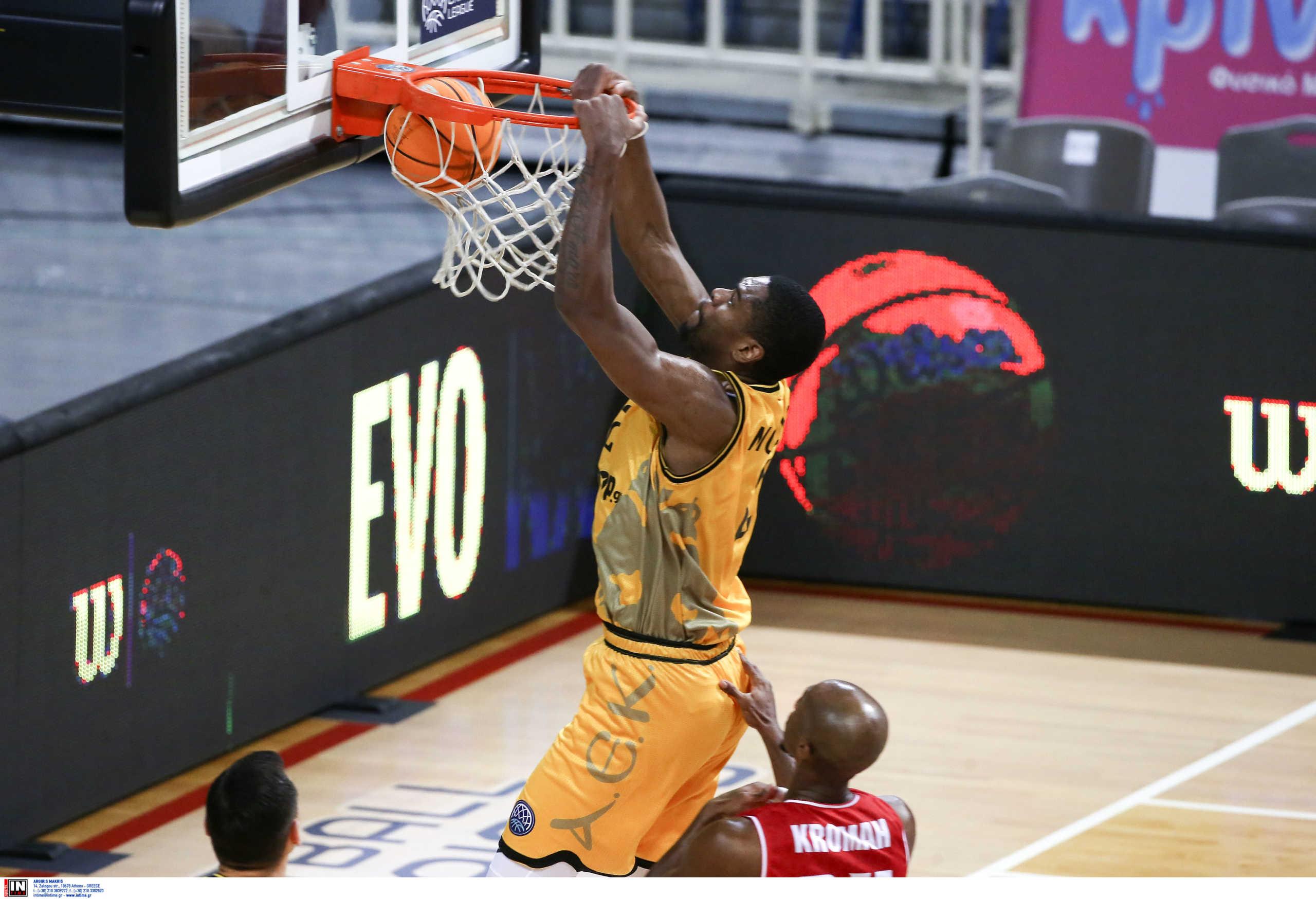 ΑΕΚ: Ο Μορέιρα πολυτιμότερος παίκτης για το Νοέμβριο στο Basketball Champions League (video)