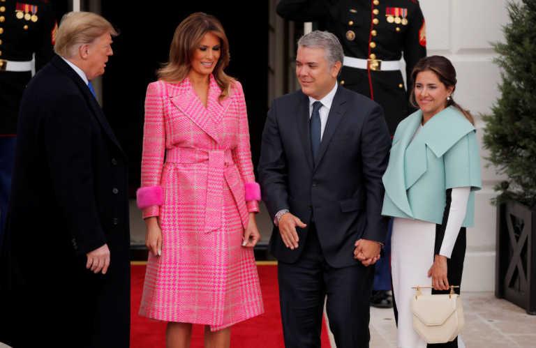 Θετική στον κορονοϊό η πρώτη κυρία της Κολομβίας
