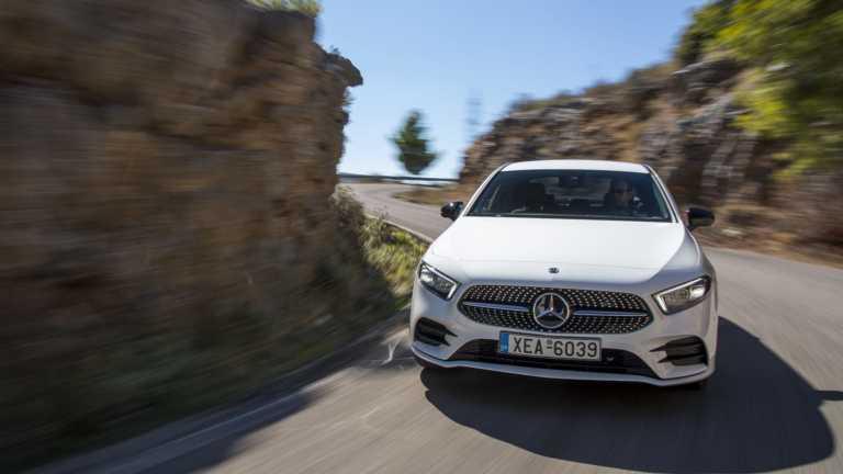 Δοκιμάζουμε την υβριδική Mercedes-Benz Α 250 e Sedan [pics]