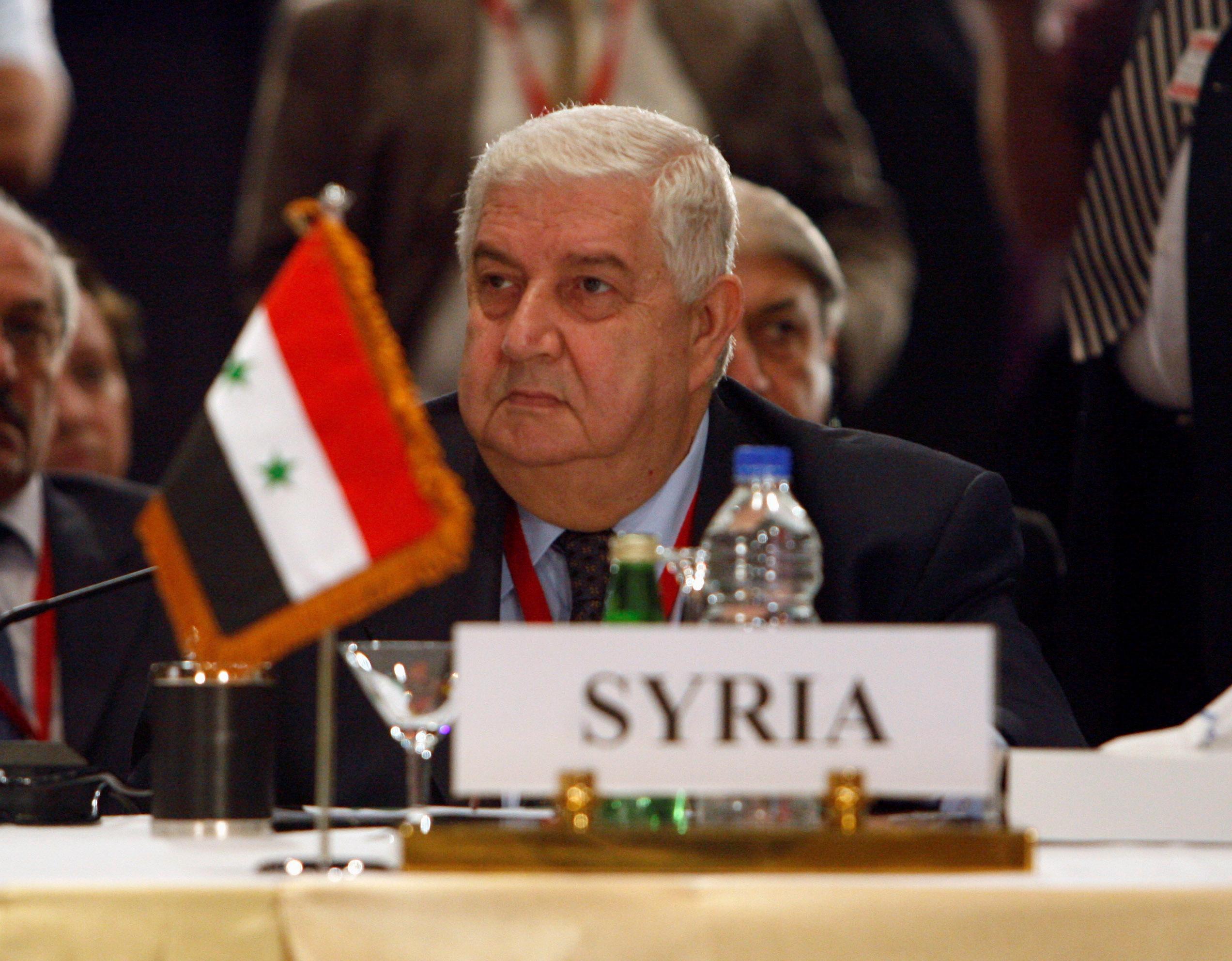 υπουργός Εξωτερικών Ουάλιντ αλ Μουάλεμ