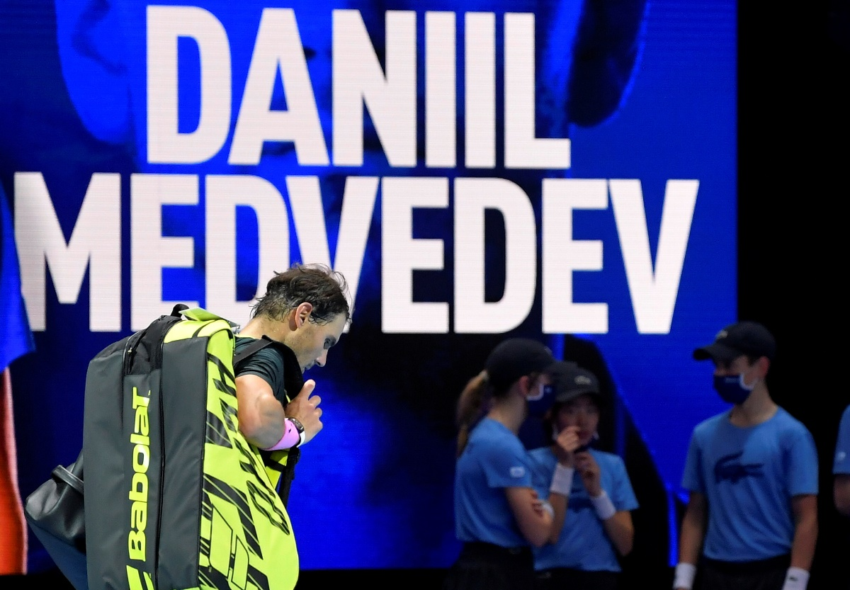 Ούτε τώρα ο Ναδάλ! Ο Μεντβέντεφ τον άφησε εκτός τελικού (video)