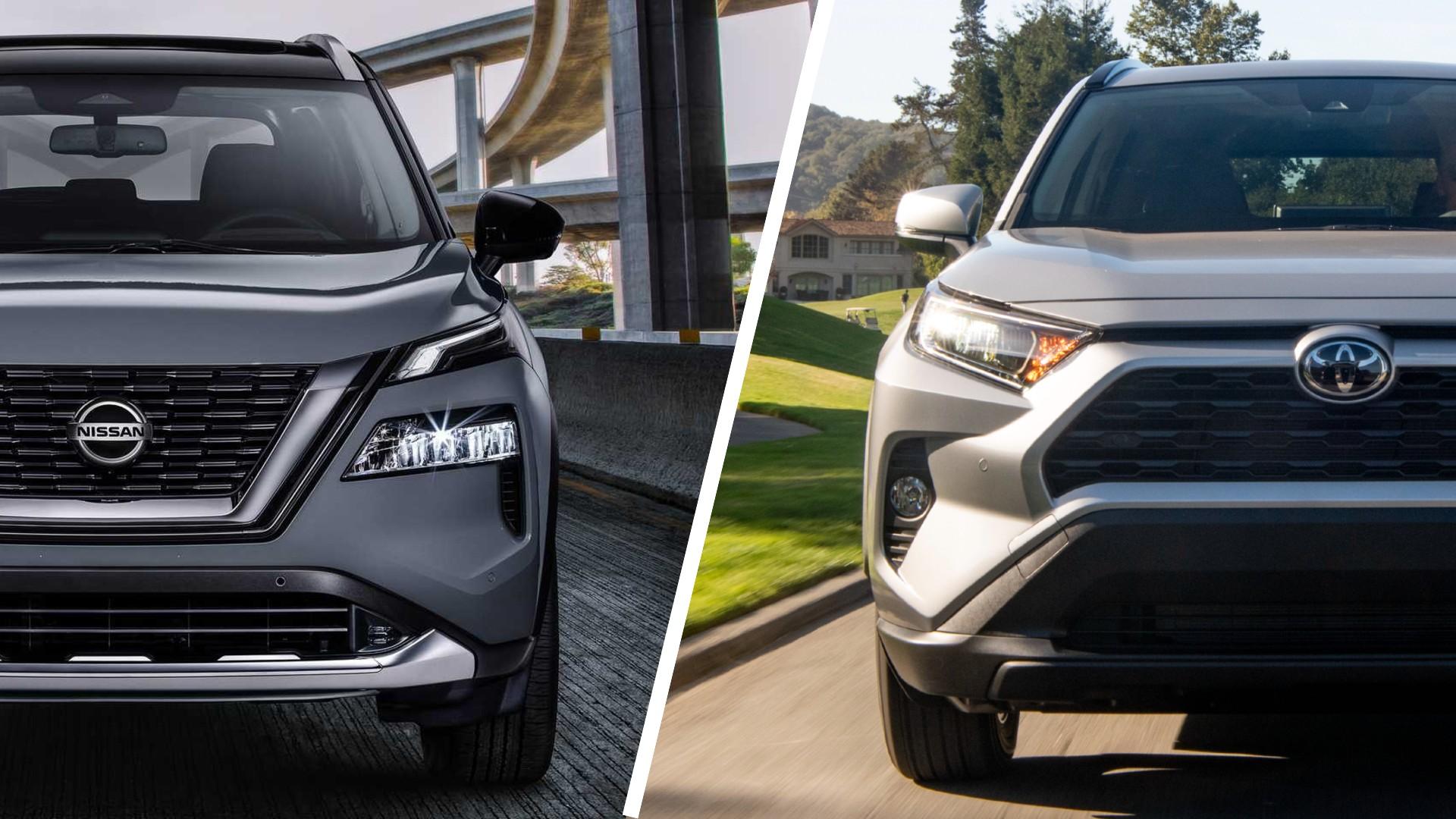 Nissan X-Trail Rogue VS Toyota RAV4