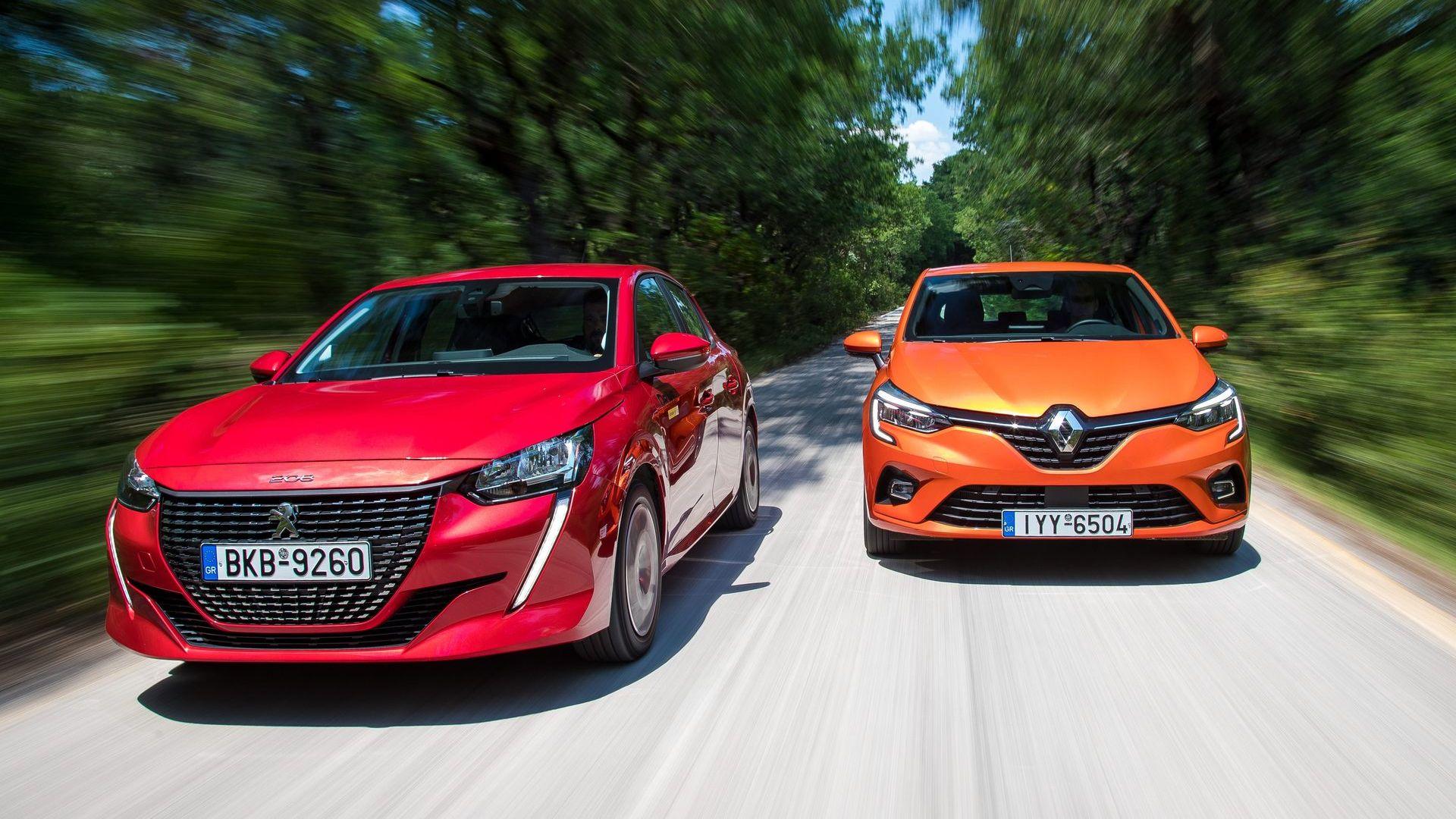 Το ντίζελ ζει: Δοκιμάζουμε τα Peugeot 208 & Renault Clio [pics]
