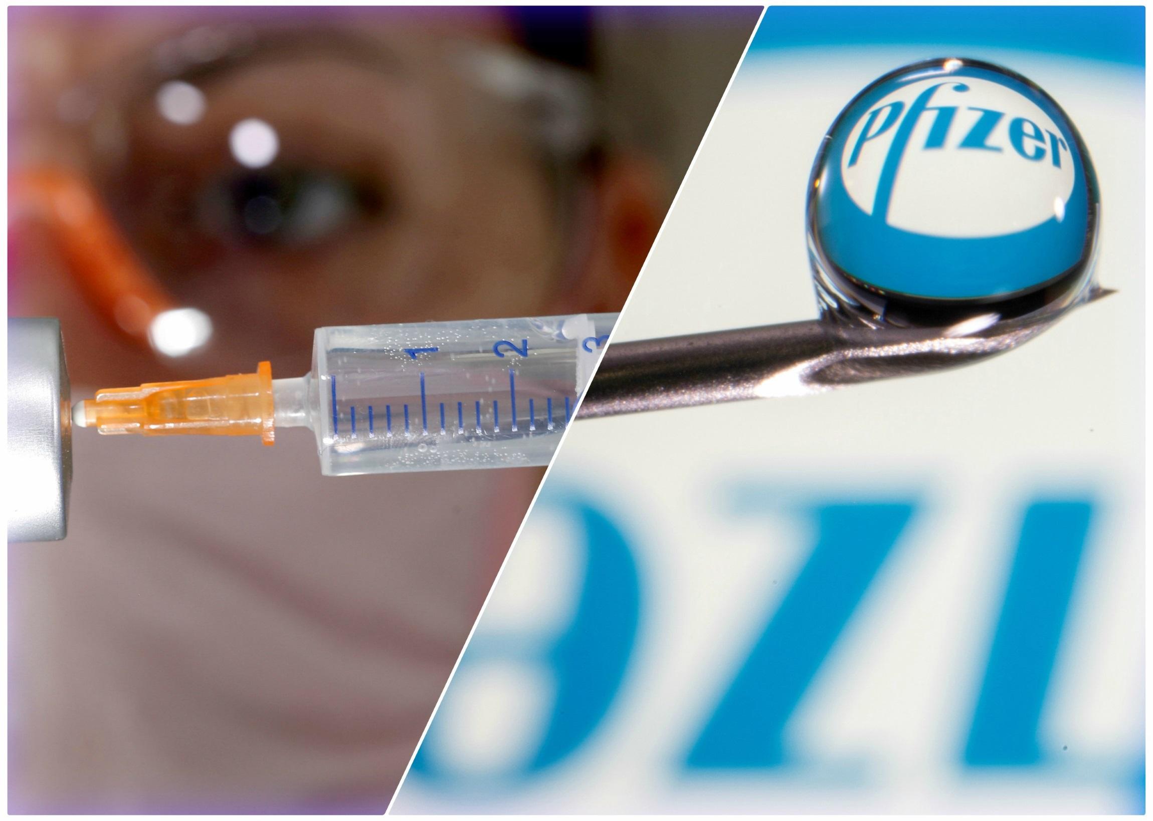κορονοϊός εμβόλιο Pfizer