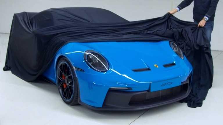 Η πρώτη ματιά στη νέα Porsche 911 GT3 [video]