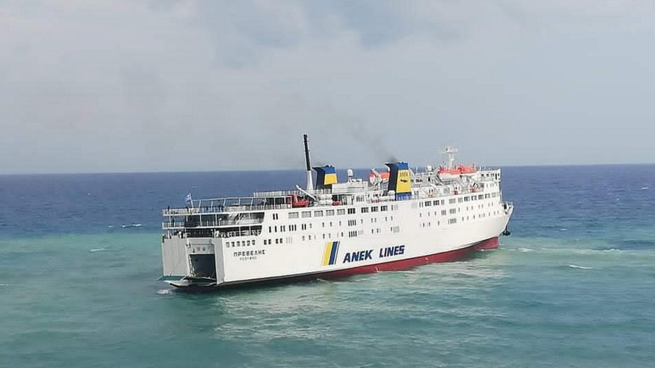 """Η Οδύσσεια του πλοίου """"Πρέβελης"""": Έχασε την μία άγκυρα – Αγωνία για τους 173 επιβαίνοντες (pics, video)"""