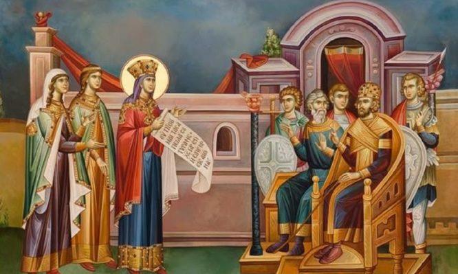 Το απίστευτο περιστατικό με την Αγία Αικατερίνη και τους 50 ρήτορες