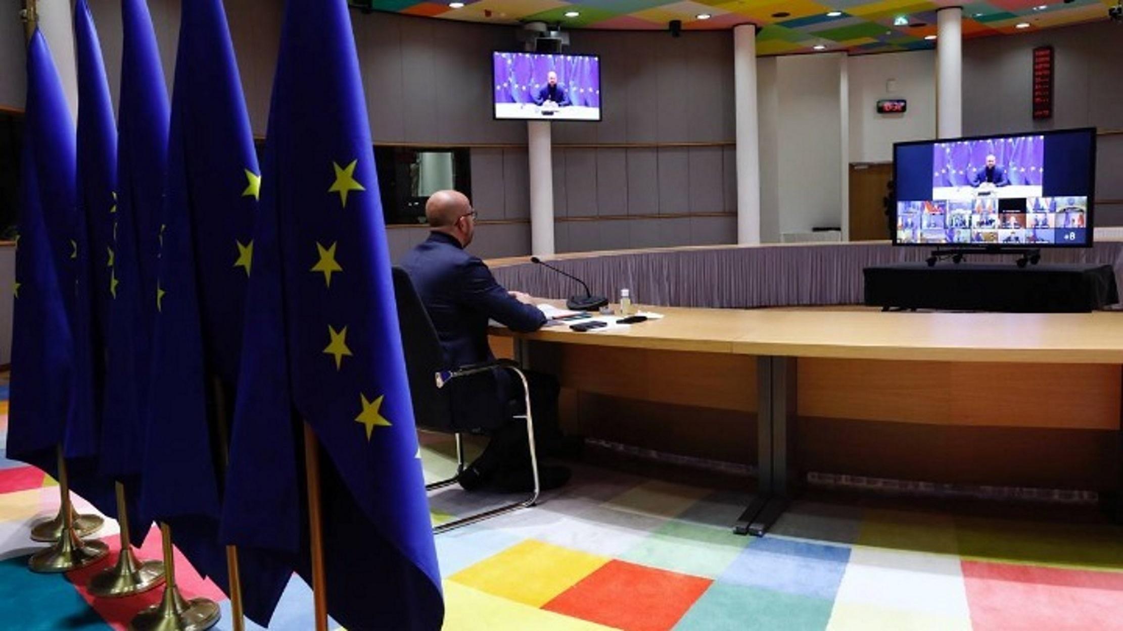 Κορονοϊός: Νέα τηλεδιάσκεψη των 27 ηγετών της ΕΕ