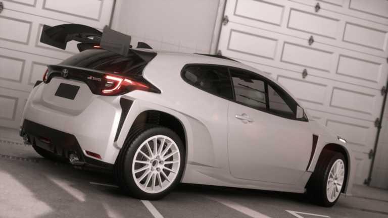 Αγωνιστικό Toyota GR Yaris AP4
