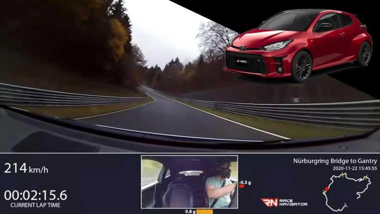 Με το Toyota GR Yaris στο Nürburgring [vid]