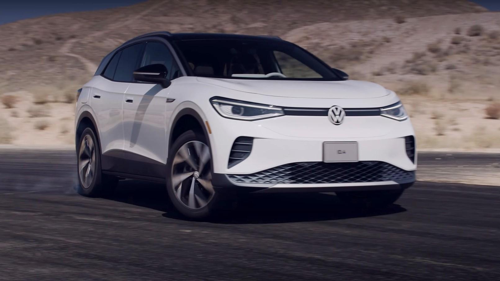 Το ηλεκτρικό Volkswagen ID.4 κάνει drift! [video]