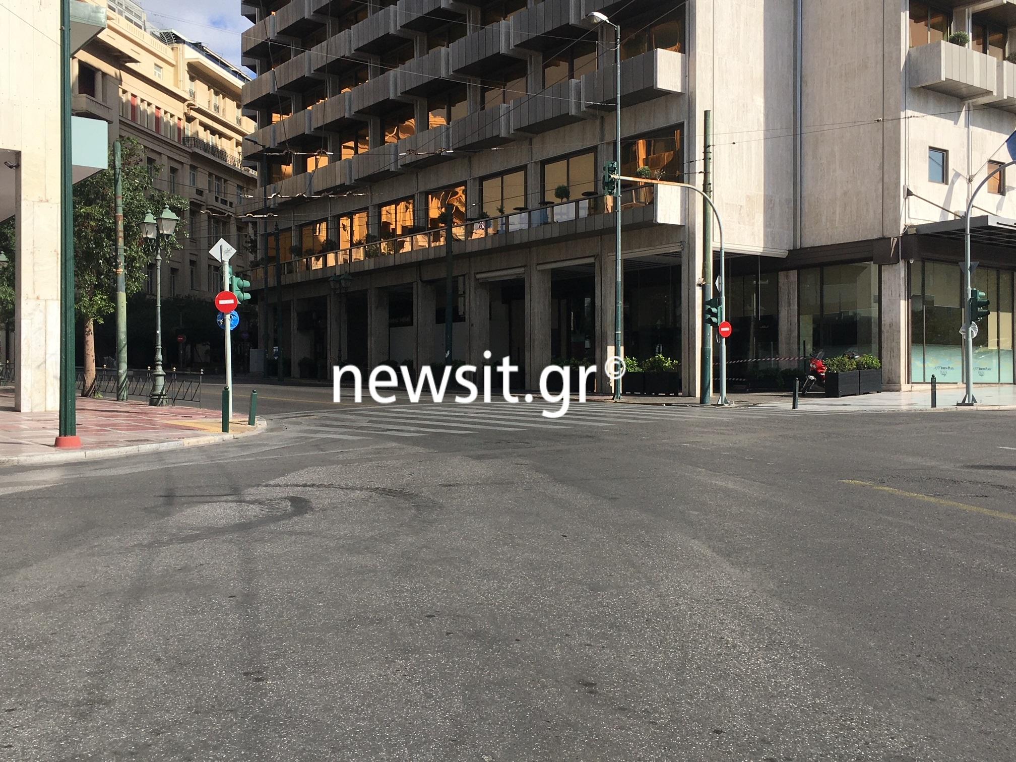 """Πόλη """"φάντασμα"""" η Αθήνα – Πρωτόγνωρες εικόνες από την… πρεμιέρα του lockdown"""
