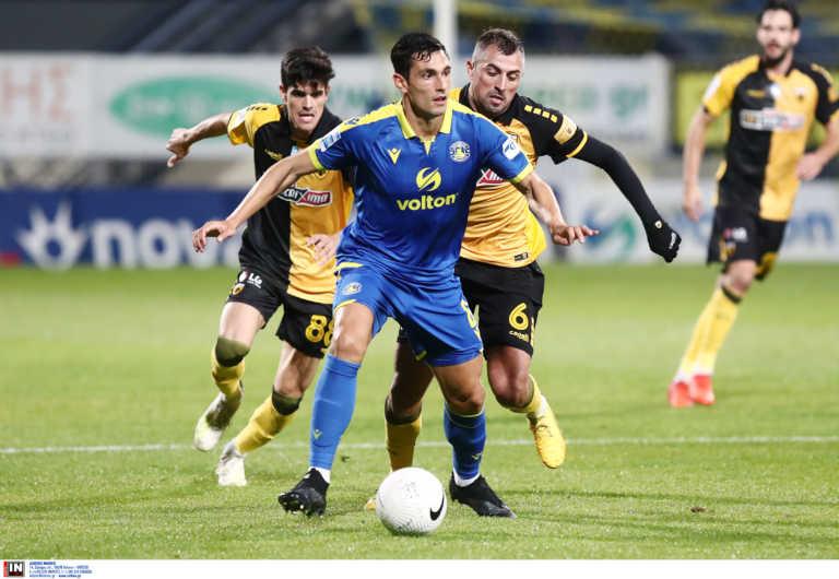 Αστέρας Τρίπολης – ΑΕΚ 1-2 ΤΕΛΙΚΟ
