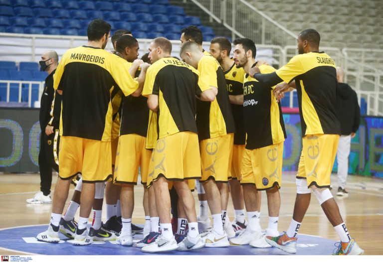 Νέο κρούσμα κορονοϊού στην ομάδα μπάσκετ της ΑΕΚ