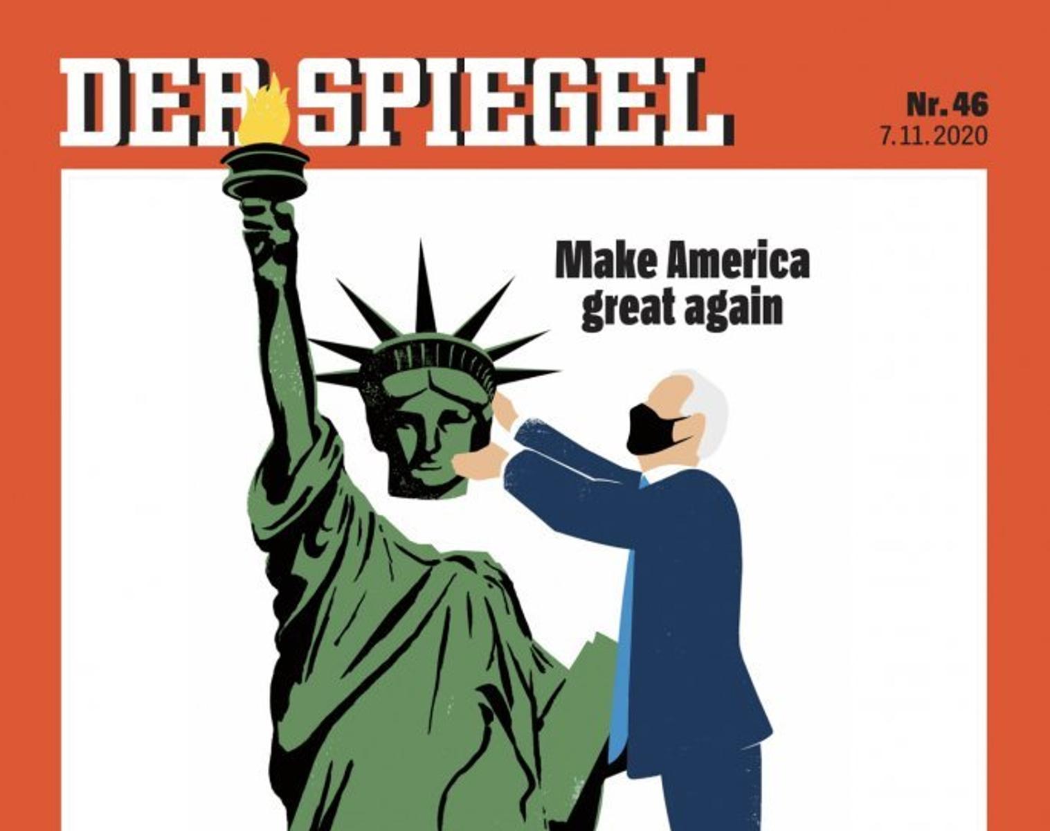 εξώφυλλο περιοδικού Spiegel