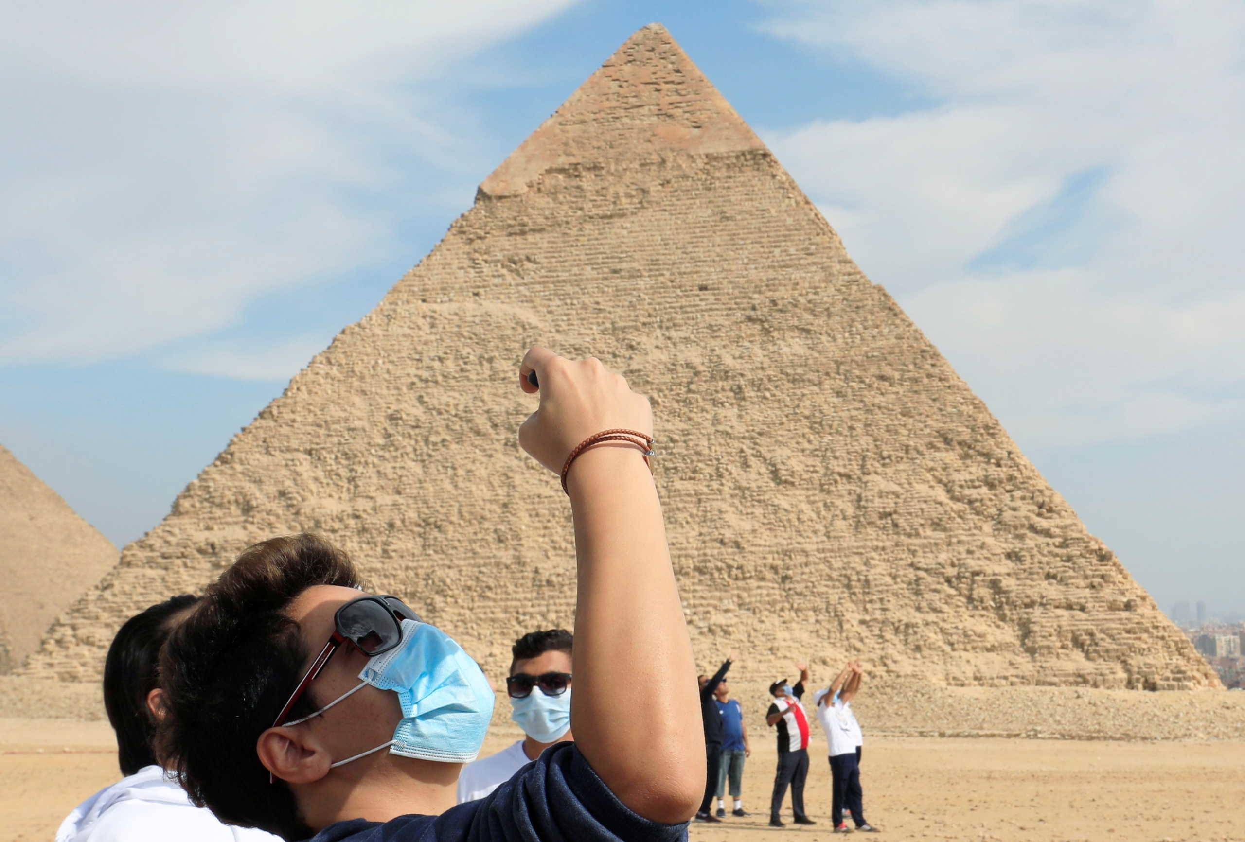τουρίστες Αίγυπτος