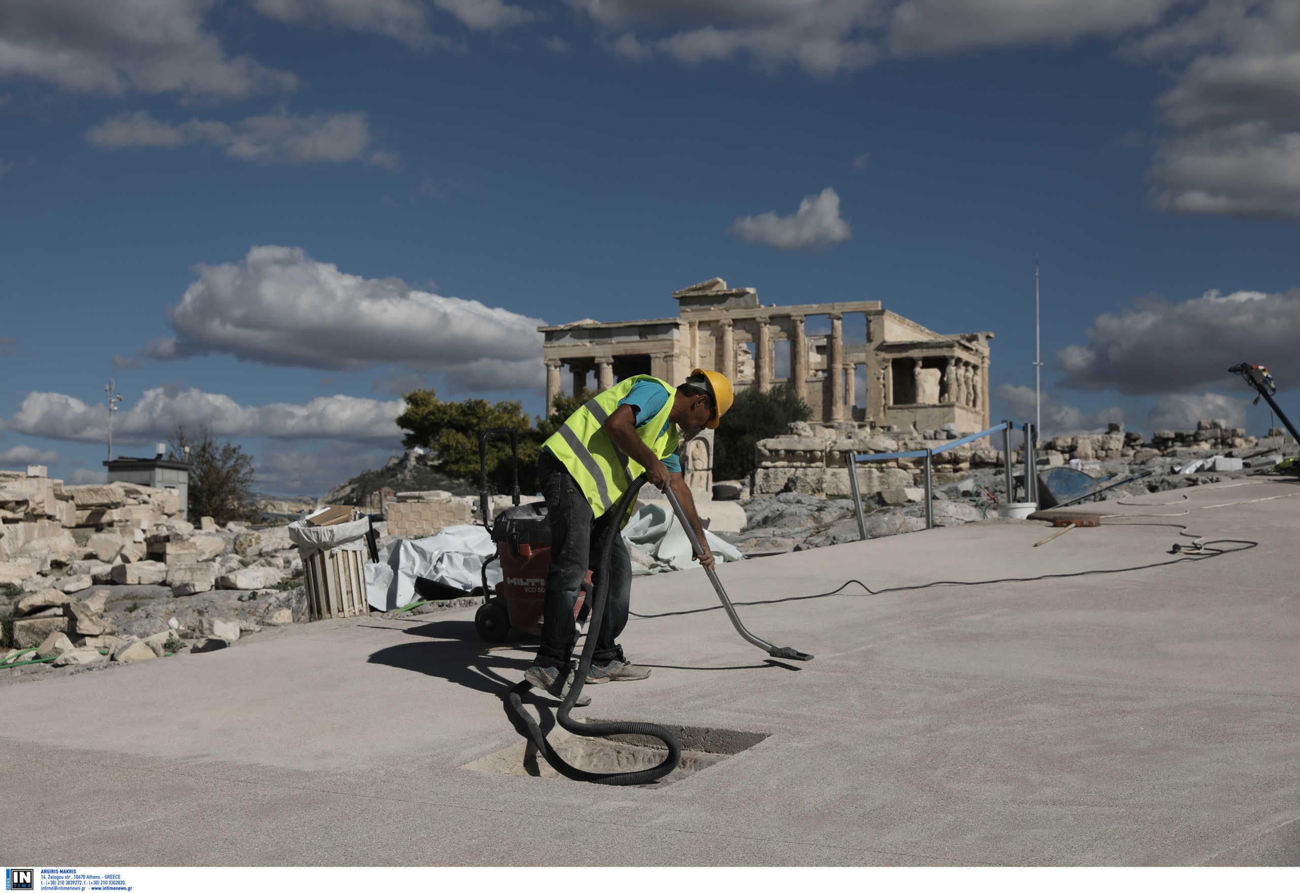 Ακρόπολη: Διευκρινήσεις για τις εργασίες δίνει η ΕΣΜΑ