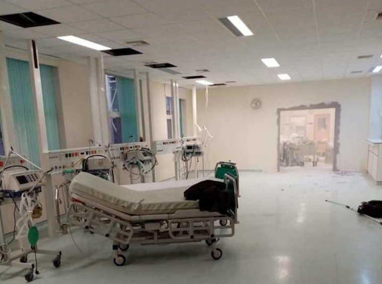 """Αλεξανδρούπολη: Τι λέει η διοίκηση για """"γκρεμίσματα τοίχων για να φτιαχτεί νέα ΜΕΘ"""" στο Γενικό Νοσοκομείο"""