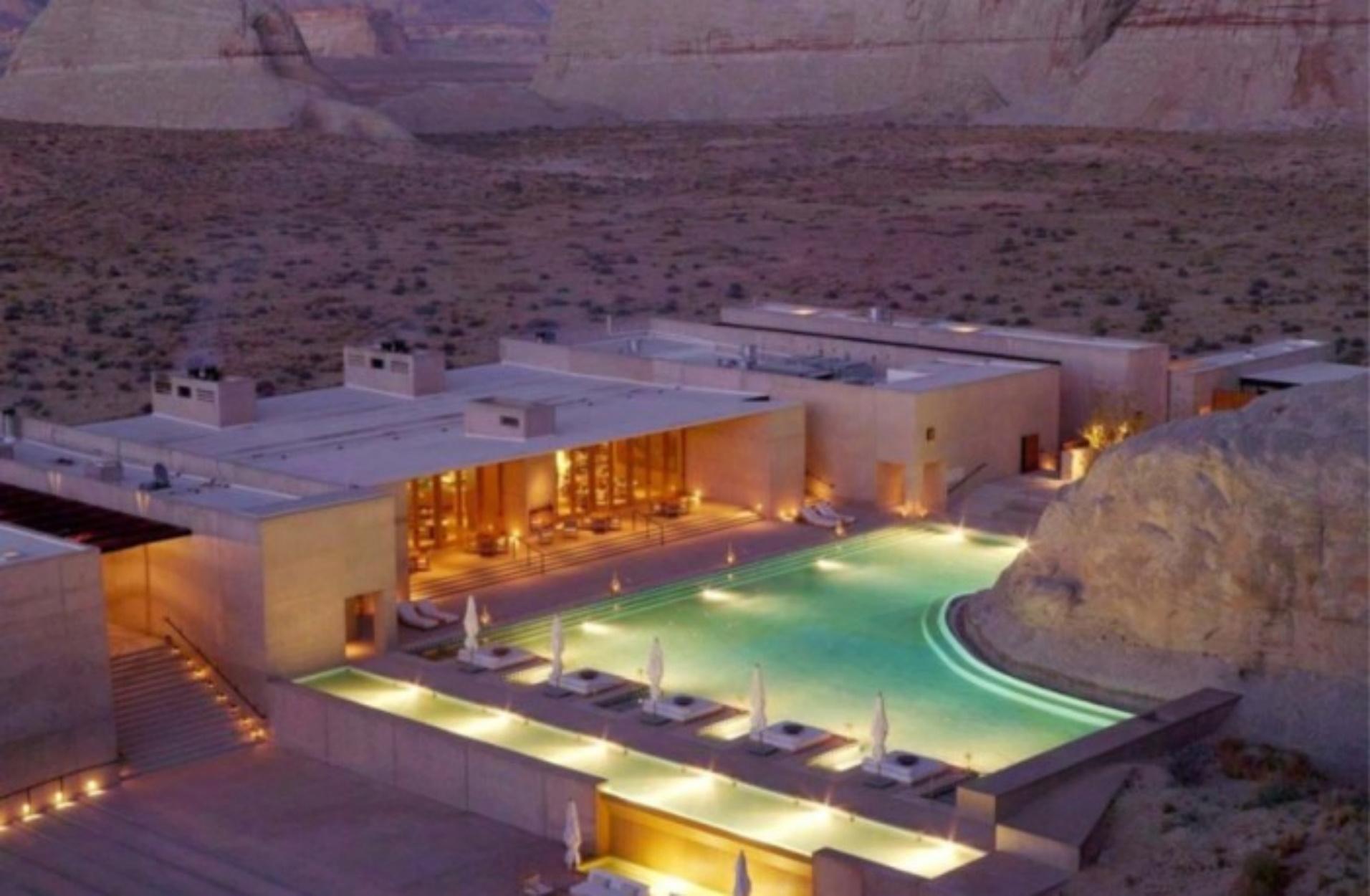 Το Amangiri είναι μακράν το πιο εντυπωσιακό ξενοδοχείο στον κόσμο!
