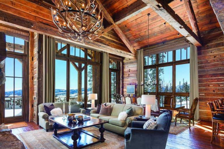 Η ξύλινη κατοικία που όλοι ονειρευόμαστε να περάσουμε αυτές τις γιορτες