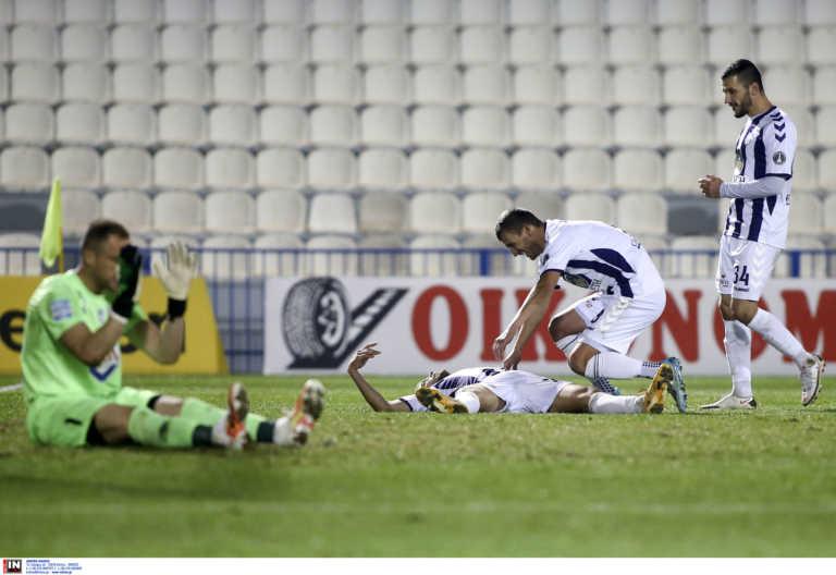 Απόλλων Σμύρνης – Βόλος: Απίθανο παιχνίδι στη Ριζούπολη με έξι γκολ (videos)