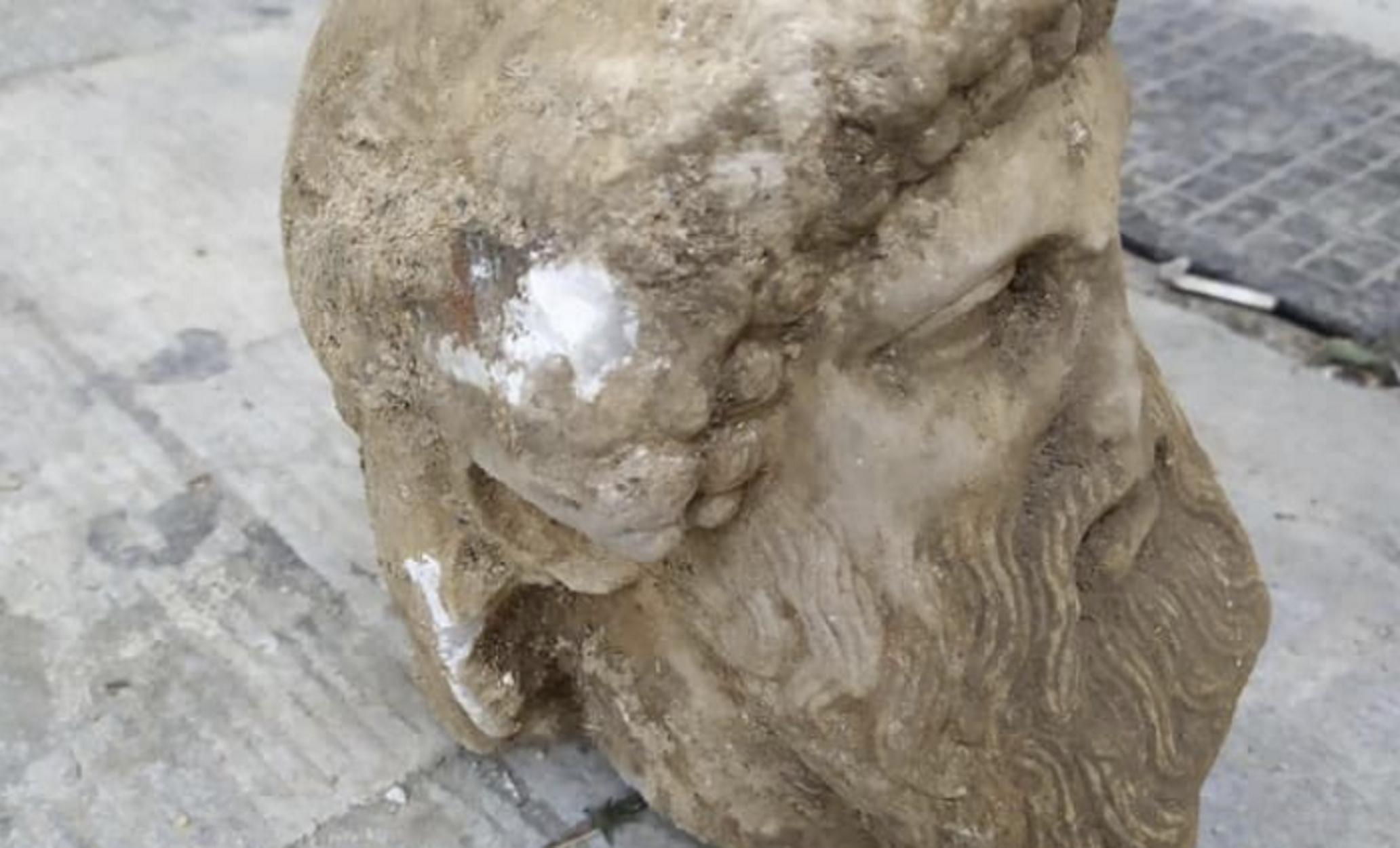Αρχαία κεφαλή