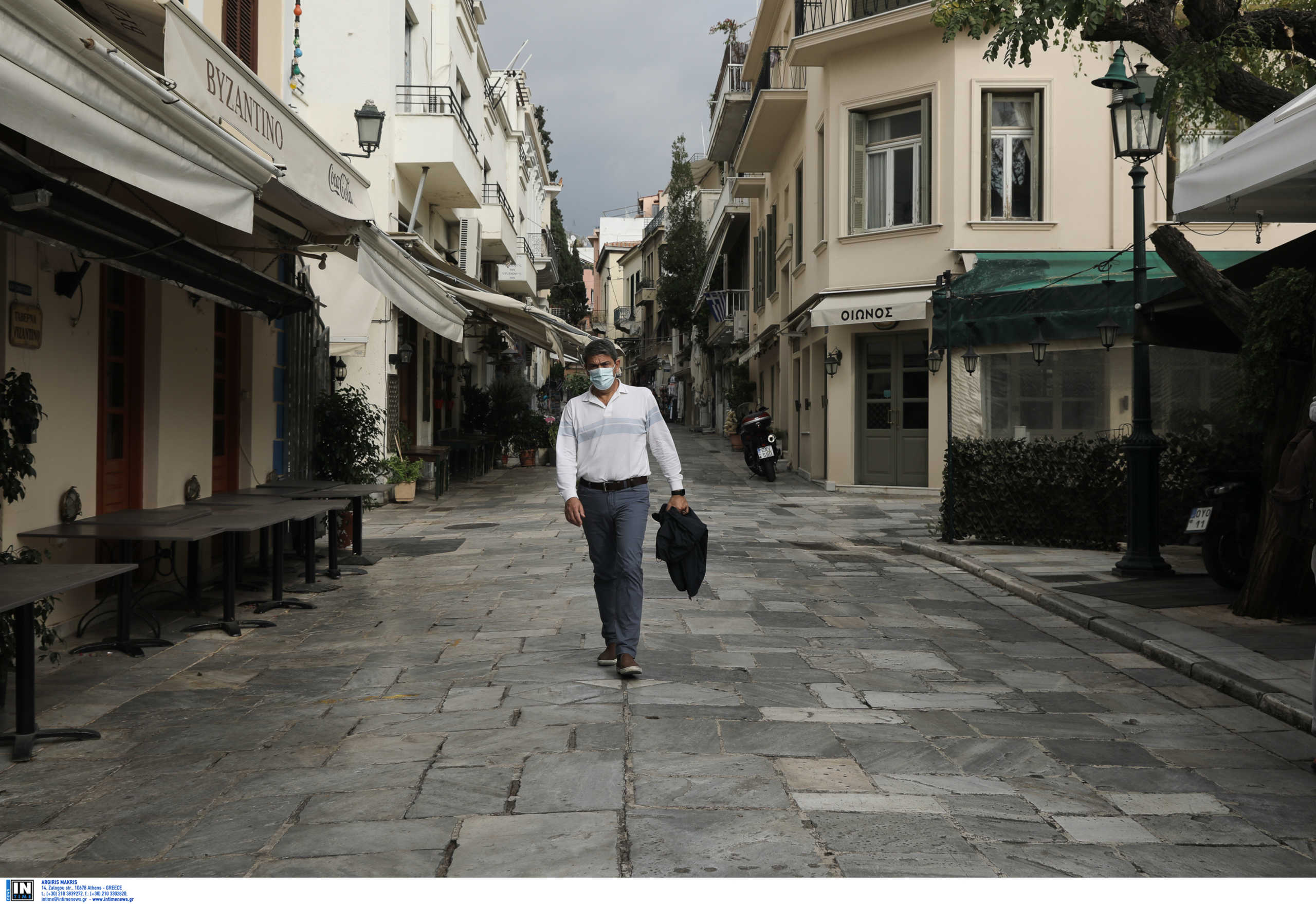 lockdown Ελλάδα μάσκα