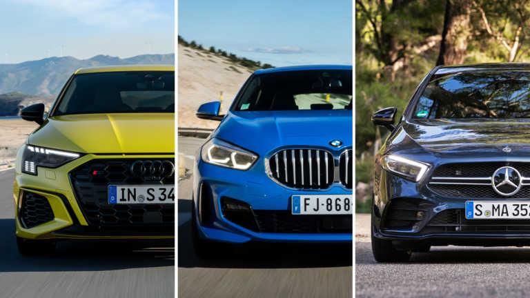Η απόλυτη κόντρα των γερμανικών premium hatchback [video]