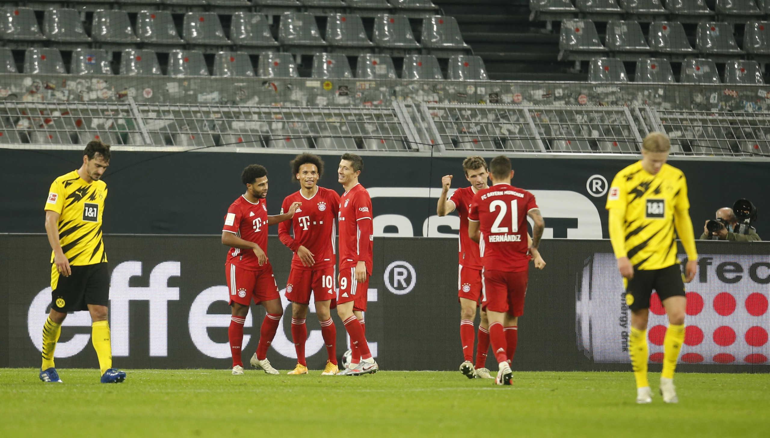 "Bundesliga: ""Αφεντικό"" στη Γερμανία η Μπάγερν! ""Άλωσε"" το Ντόρτμουντ με τριάρα (video)"