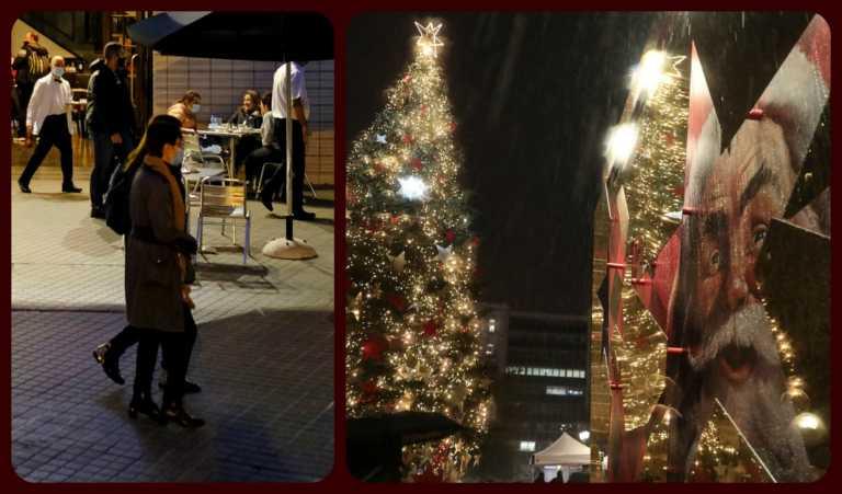Lockdown… Χριστουγέννων! Ρεβεγιόν με λίγους, ψώνια με μέτρα, εστίαση με τραπεζάκια έξω