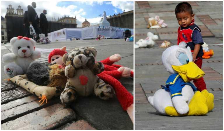 Χίλια λούτρινα αρκουδάκια κατά της σεξουαλικής κακοποίησης παιδιών στην Κολομβία