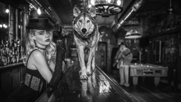 """Crawford και Delevingne στην """"Άγρια Δύση"""" του φωτογράφου David Yarrow"""