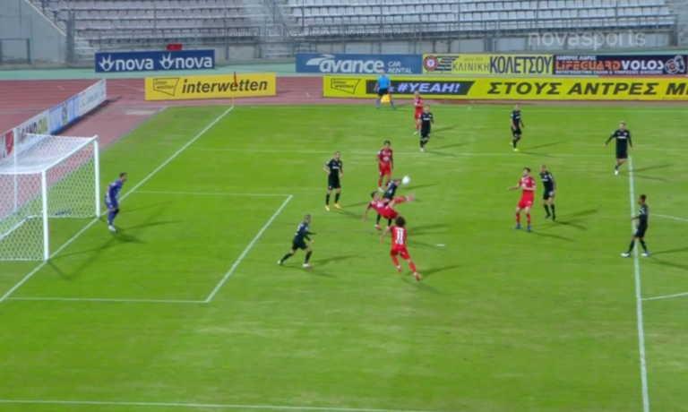 Βόλος – ΟΦΗ: Ο Δουβίκας πήγε να βάλει το γκολ της χρονιάς (video)