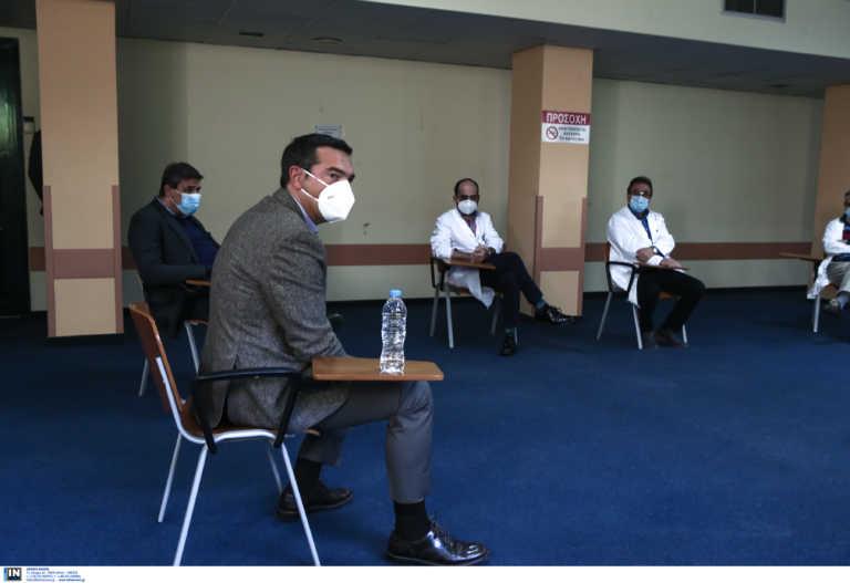 Δράμα: «Θέλουμε στήριξη, δεν αντέχουμε άλλο» είπαν γιατροί στον Τσίπρα